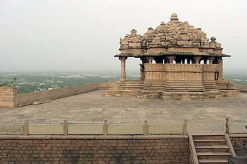 The Sas-Bahu temple of Gwalior.